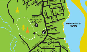 Mangawhai Park walk map