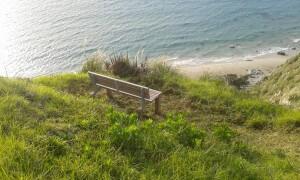 New seat on the Goldschmidt walk