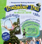 Join the Troubadour Walk this year