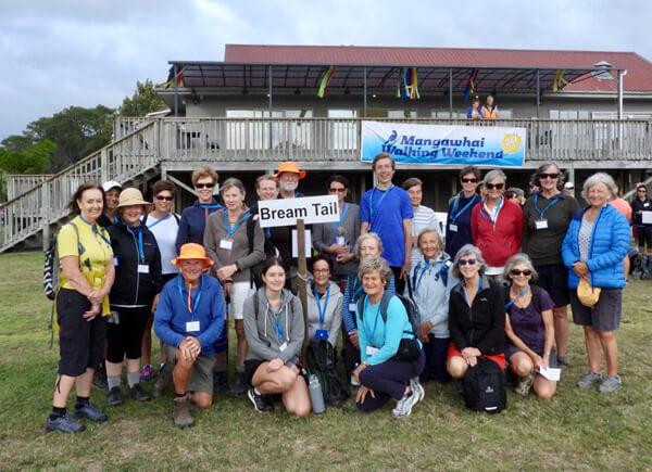 Mangawhai walking weekend 2021 group photos